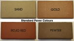 Standard Paver Colours