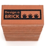 Sample display - Design a Brick logo