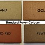 Standard Paver Colours