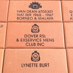 Commemorative Engraved Name Pavers