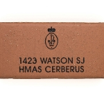 Commemorative Navy Engraved Name Paver