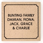 Family name paver