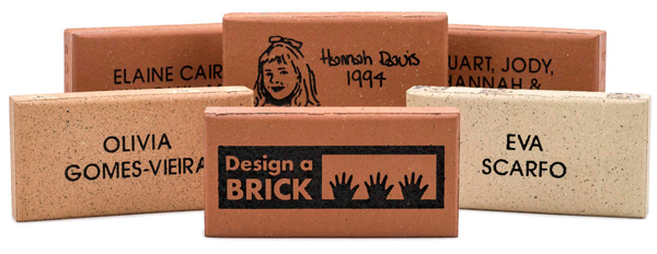 Design a Brick welcome page image